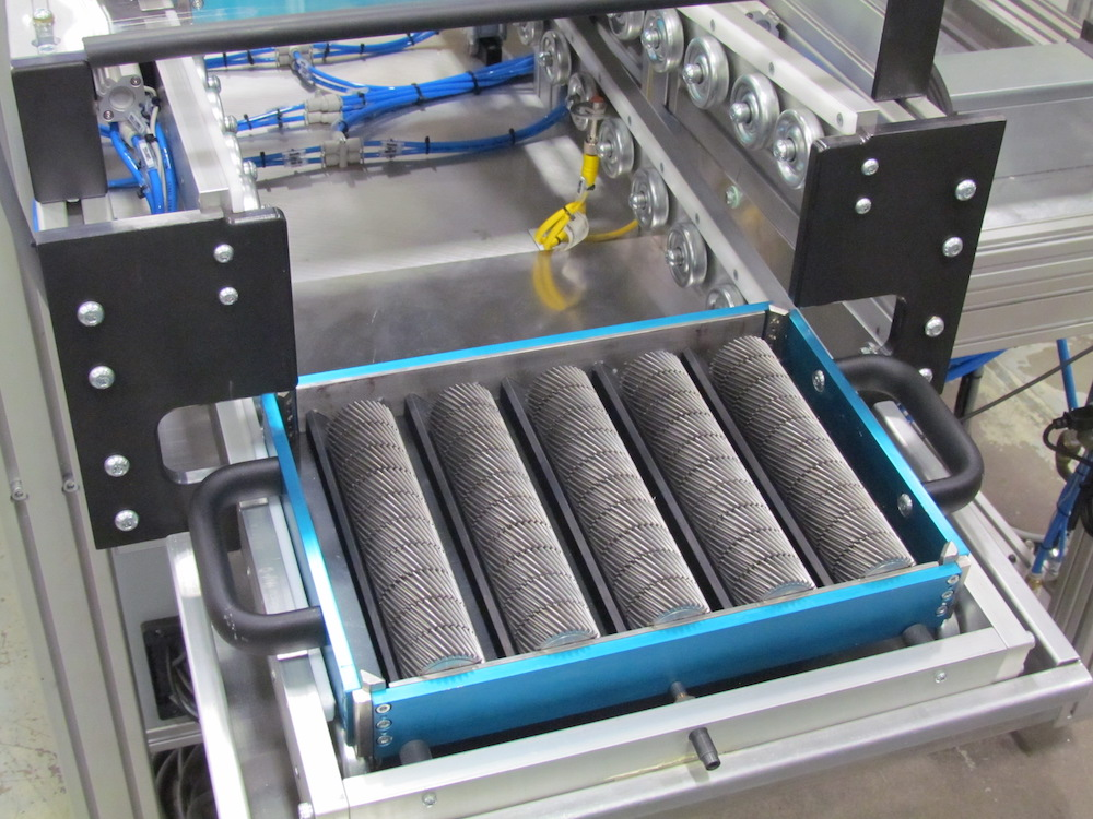 Bore horizontal gears on hard trays with ACEtrace